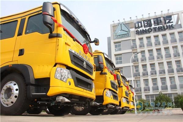 中国重汽HOWO欧六洗街车
