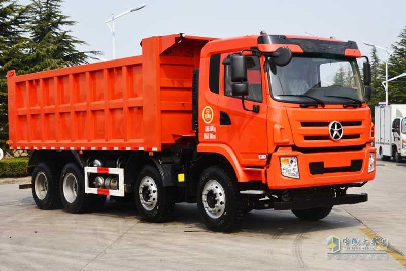 大运重卡 N6系列 8×4 270马力 自卸车