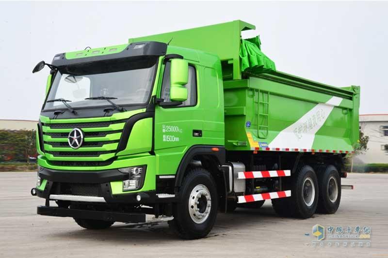 大运重卡 N8V系列 6×4 336/350马力 智能渣土车