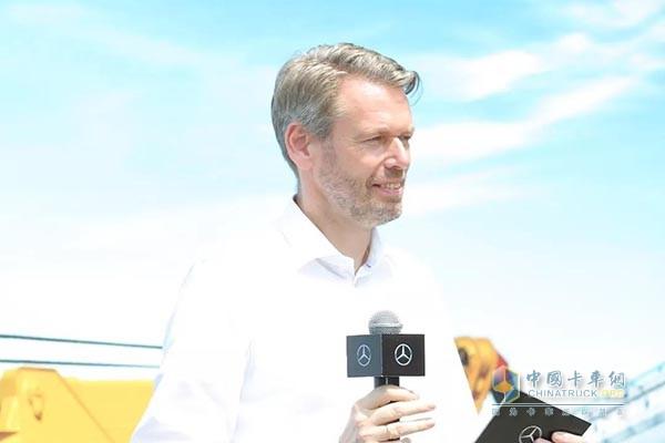 戴姆勒卡客车(中国)有限公司CEO Ralf Kraemer先生