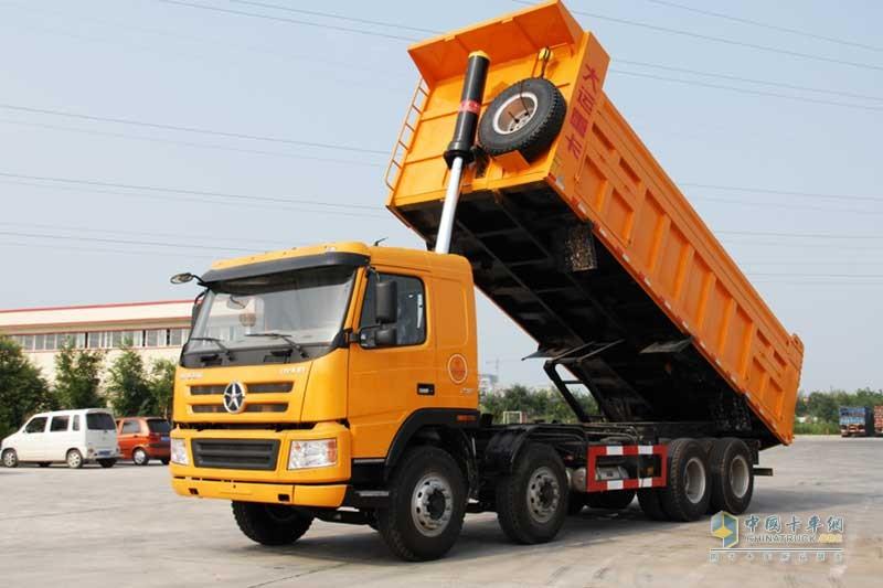 大运重卡 新N8E系列 8×4 310/350马力 自卸车