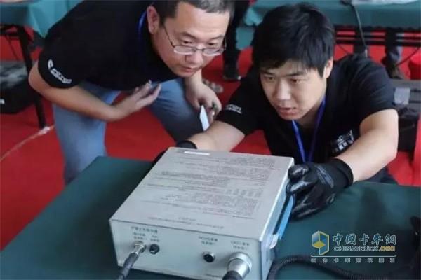 发动机维修技能大赛实操比赛
