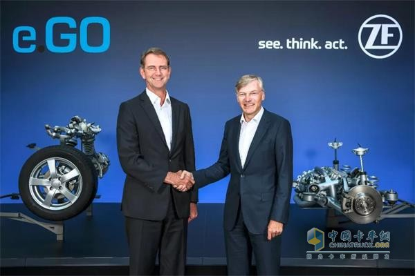 采埃孚与初创公司e.Go Mobile共同宣布,其合资企业e.Go Moove将从2019起量产其合作的自动驾驶车辆e.Go Mover
