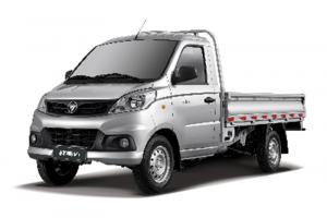 福田祥菱V 半承载 3170轴距 1.5L 两用燃料 双排(平板)