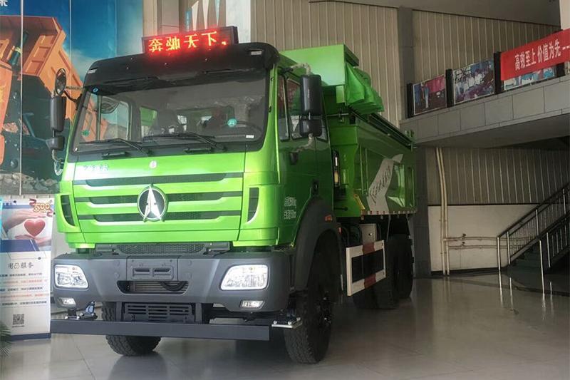 北奔 NG80B重卡 350马力 6X4 国五自卸车(ND5250ZLJZ13)