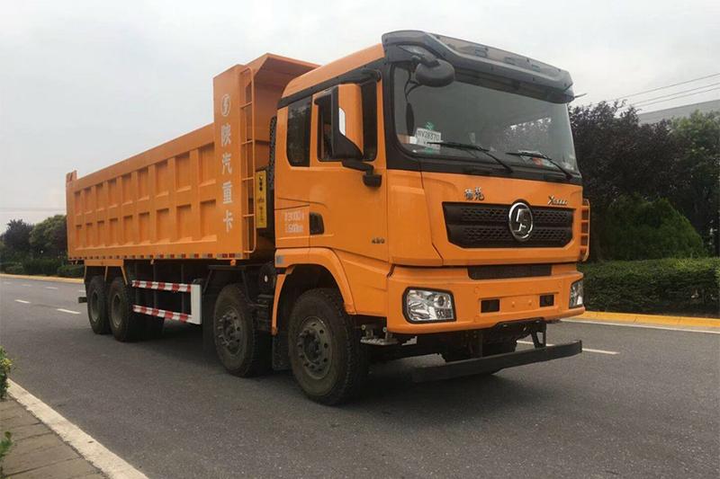 陕汽重卡 德龙X3000矿用加强版 375马力 6X4 5.6米自卸车(SX32506B3841B)
