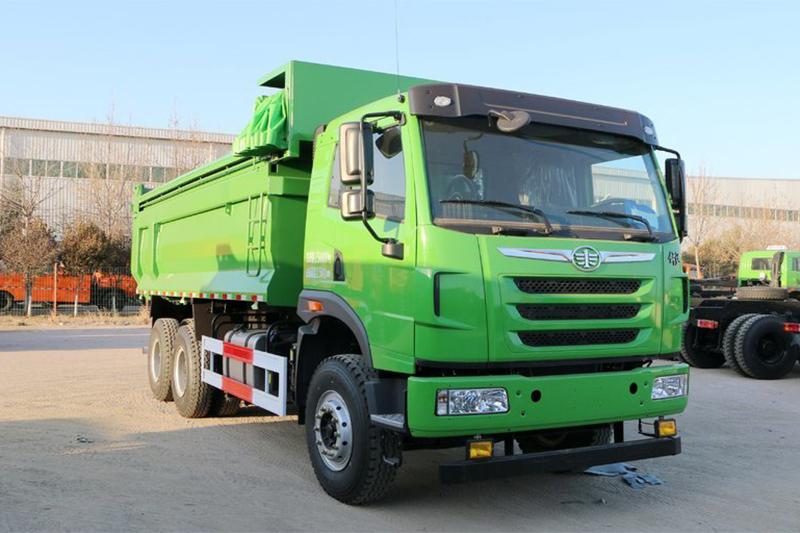 一汽解放青汽 天V重卡 375马力 6X4 6.7米自卸车(CA3251P2K2L4T1E5A80-2)