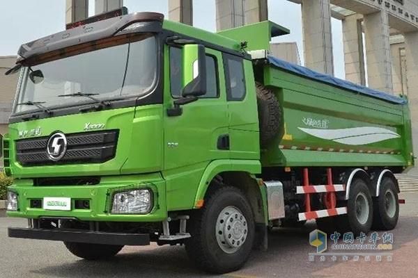 陕汽X3000环保渣土车