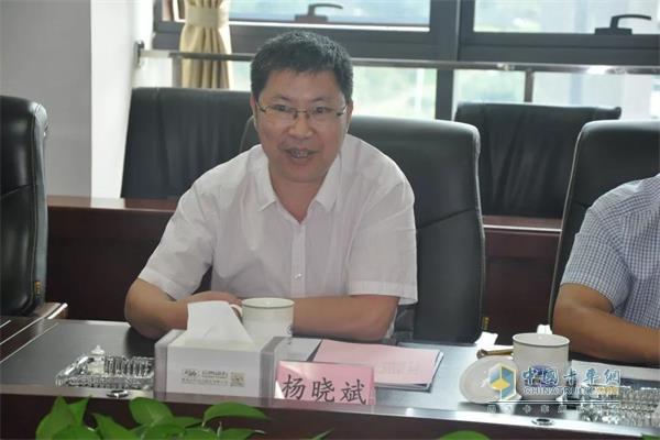 昆明城投党委书记、董事长、总经理杨晓斌