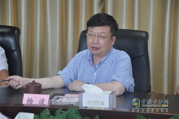 云内集团党委书记、董事长杨波