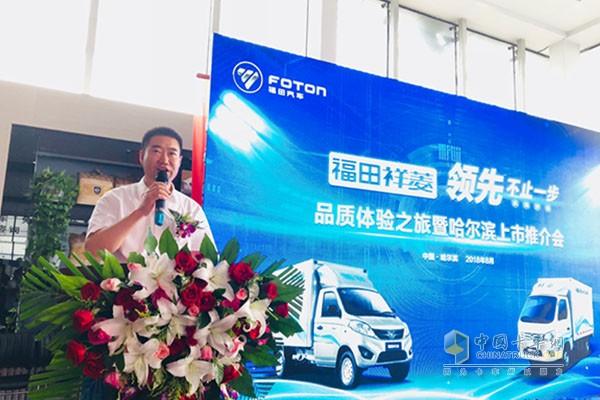 福田汽车时代事业部微车营销公司总经理王立平