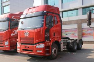 一汽解放 J6P重卡 轻量化版 350马力 6X4牵引车