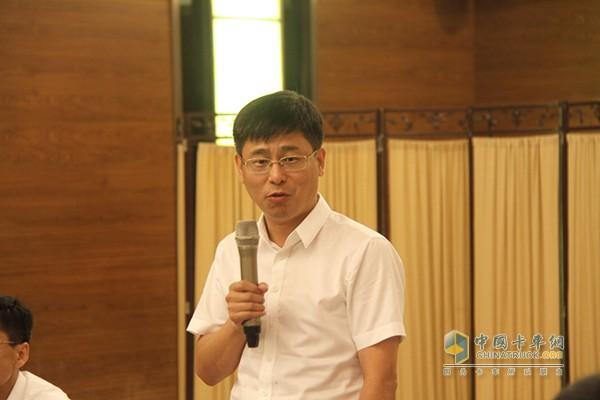 一汽解放汽车有限公司产品管理部专用品系部长于广江先生总结发言