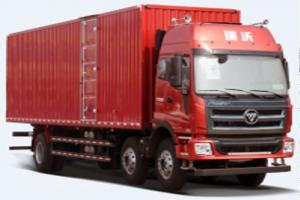 福田时代 瑞沃Q9 270马力 6X2 8.6米栏板载货车