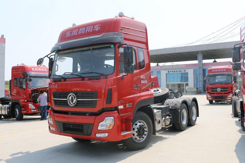 东风商用车 天龙重卡 轻赢版 420马力 6X4牵引车