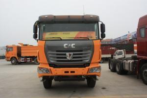 联合卡车 超短轴距  8×4 城市渣土自卸车