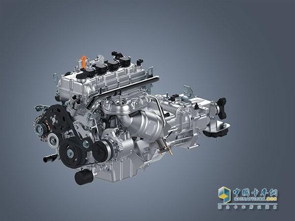 """这款发动机采用""""进气控制 减磨""""的技术路线及紧凑化,轻量化的结构设计图片"""