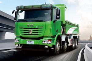 联合卡车U340 340马力 8X4 自卸车(城建渣土车)