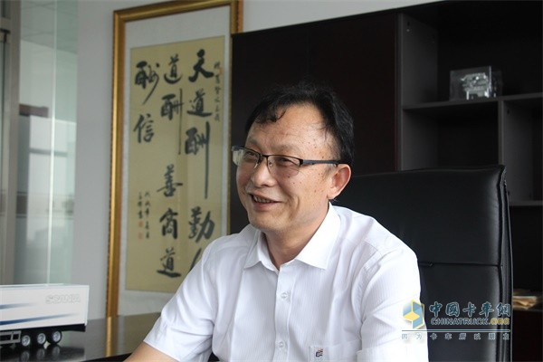 长久集团改装车系统常务副总裁葛贤文
