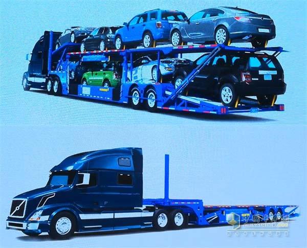 可转化式轿运车