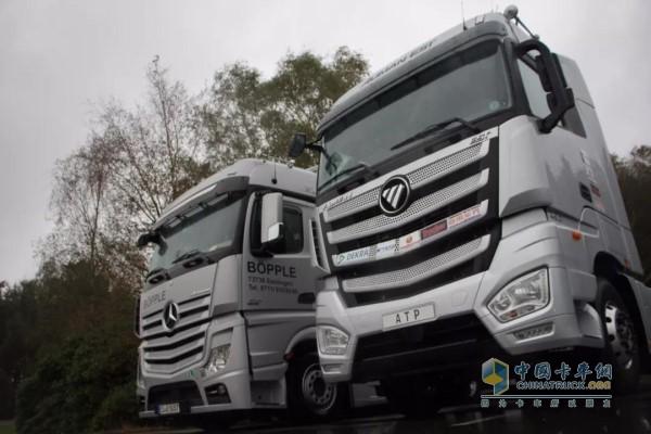 """欧曼est超级卡车:专线运输利器,助力国窖""""万里飘香""""图片"""