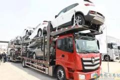 新欧曼EXT中置轴轿运车上市即斩获千台大单