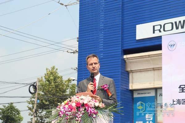 北京福田康明斯发动机有限公司工厂厂长Miguel