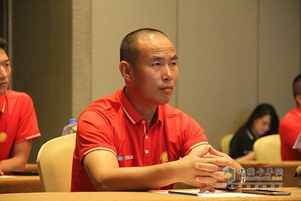 来自黑龙江的选手席宝昌
