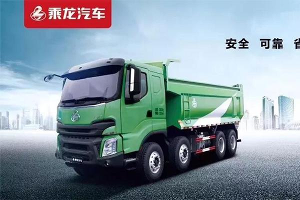 """听说要保卫""""深圳蓝""""?少了我乘龙H7只能渣土车怎么行"""