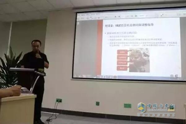 东风康明斯成都商务处董滨工程师分析维修市场的发展和趋势