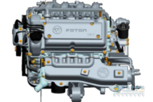 福田4W12M1汽油发动机