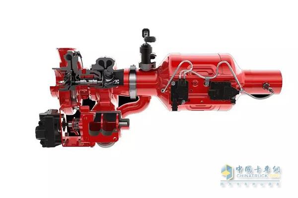 康明斯集成涡轮增压和后处理系统