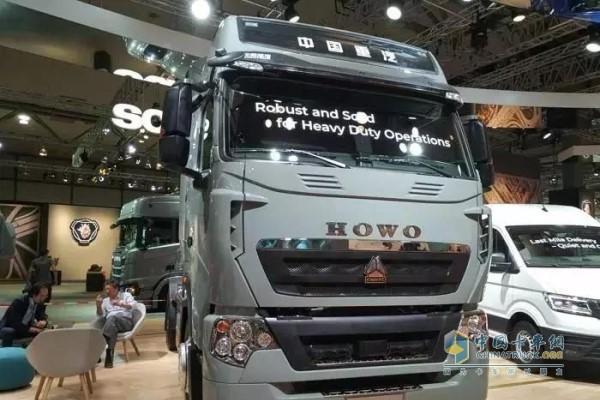 中国重汽豪沃T7H惊艳亮相汉诺威国际车展