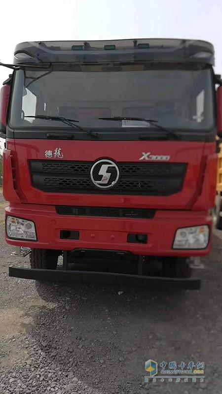 陕汽德龙X3000西南版 430马力 8×4自卸车现车现提最后一台!