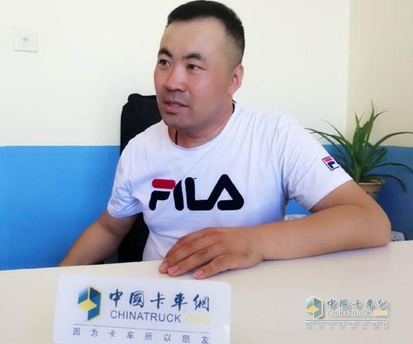 青岛伟祥瑞达物流公司公司总经理李方伟先生