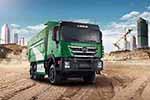 与渣土为伍,为绿色防护,且看红岩智能环保渣土车