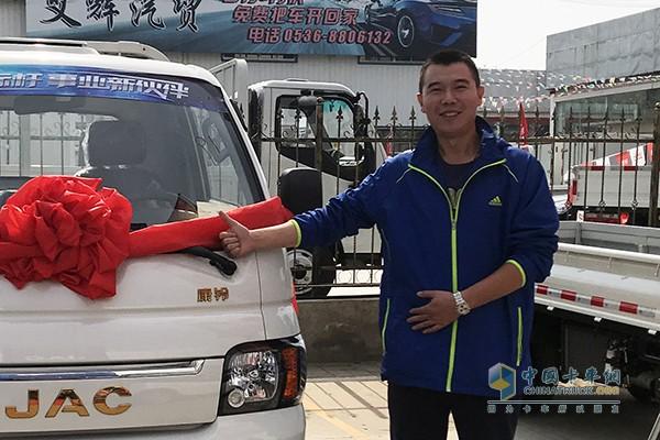 潍坊联运公司物流业务总监何俊