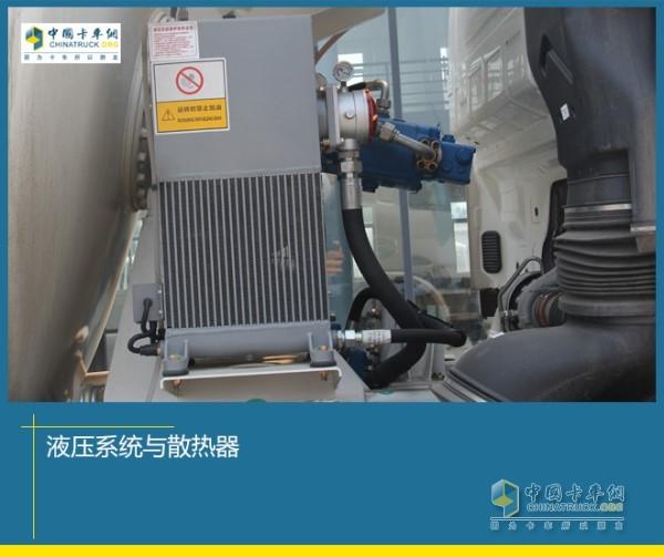 液压系统与散热器