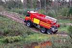 森林守护神!斯堪尼亚首辆全新P370 XT 6x6森林消防车投入使用