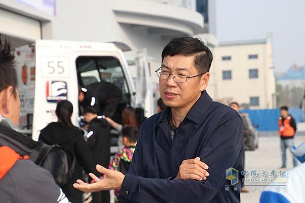 中国卡车公开赛组委会常务副主席李上雄