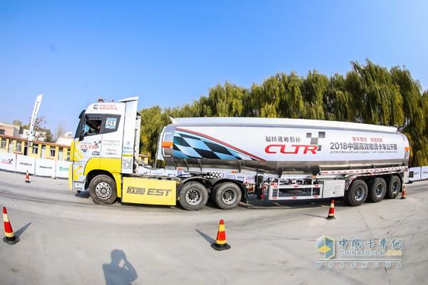 福田戴姆勒杯2018中国高效物流卡车公开赛银川危化品专场活动