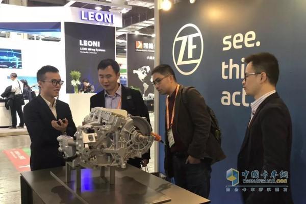 致力提供系统化电驱动解决方案 采埃孚亮相中国国际电动汽车会议