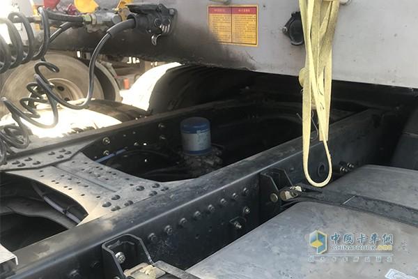 空气干燥管也采用乐克诺尔产品