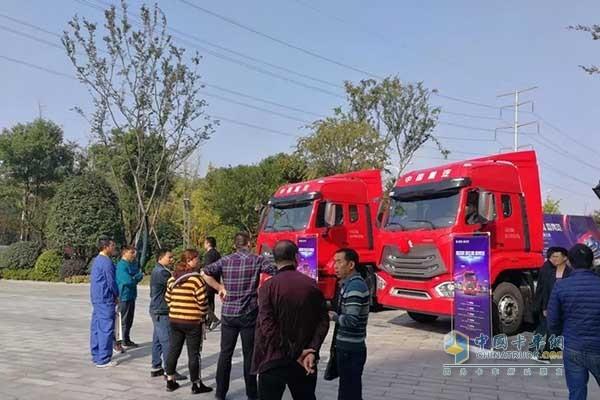 中国重汽豪瀚N系列长沙上市发布会现场