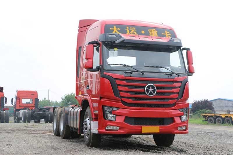 大运 新N8V重卡 430马力 6X4 LNG牵引车