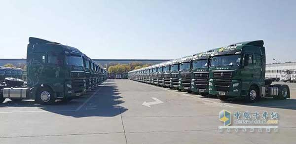 中国邮政一次性采购124台汕德卡