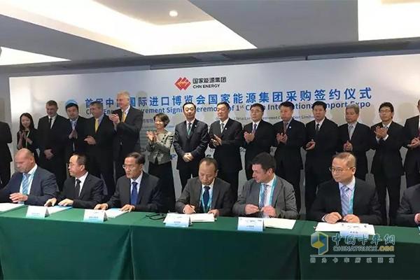 康明斯与国家能源集团签约
