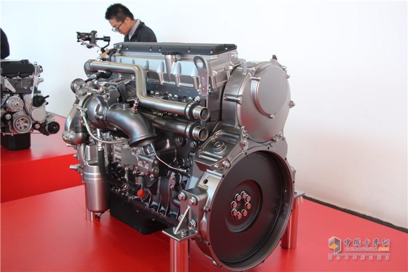 上菲红科索9cng发动机