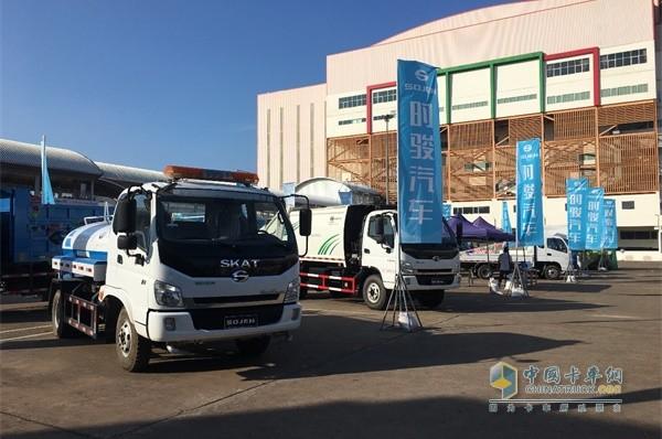 时骏(SOJEN)汽车受邀参展老挝国际商品交易会