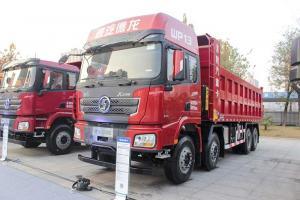 陕汽重卡 德龙X3000 550马力 8X4 7.6米自卸车